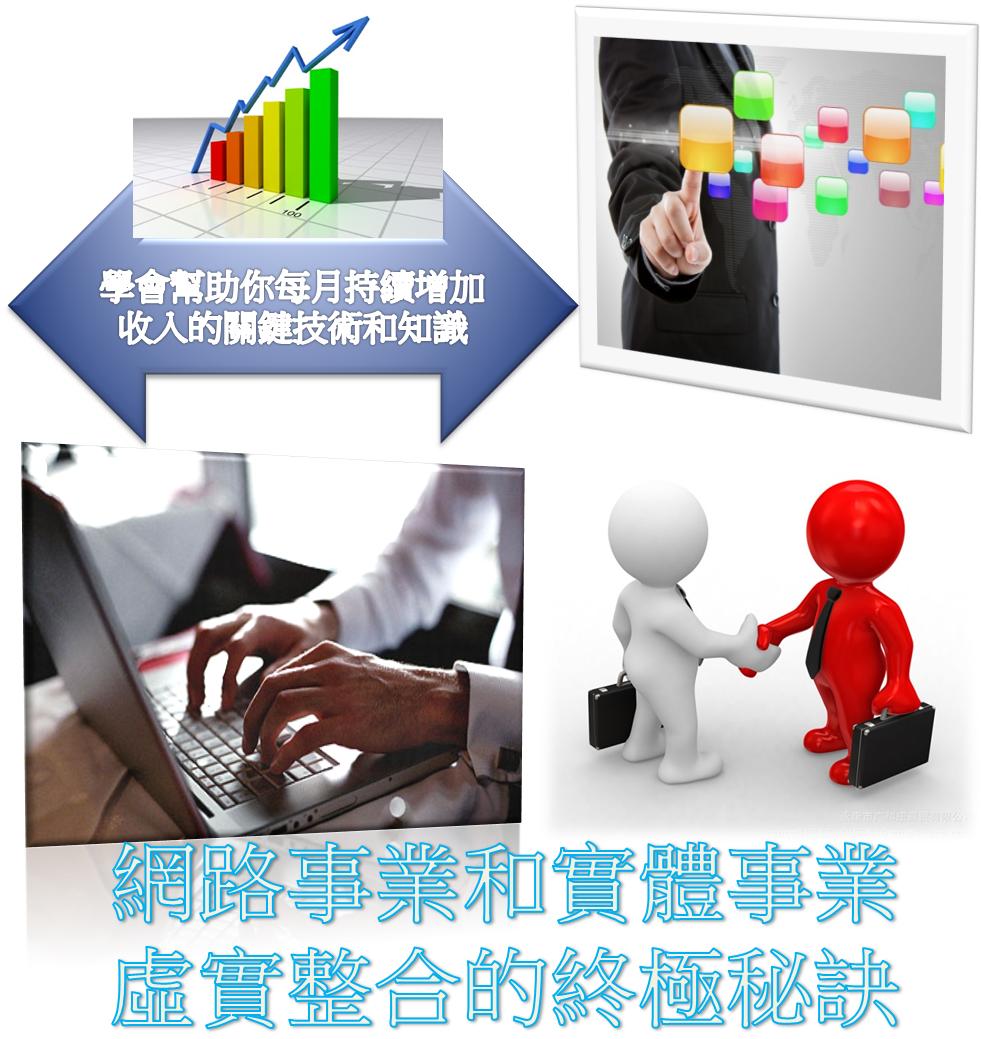 林瑋網路行銷-虛實整合的終極秘訣